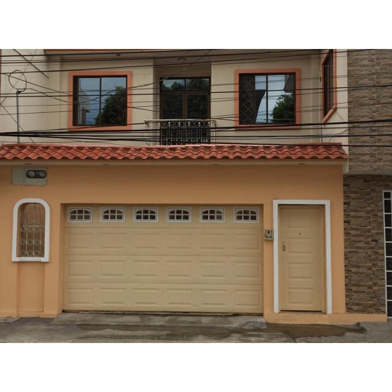 Puerta de garaje dise o americano deluxe mecanismo - Mecanismo puerta garaje ...