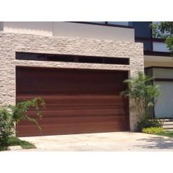 Puerta de Garaje Diseño Americano Lineal